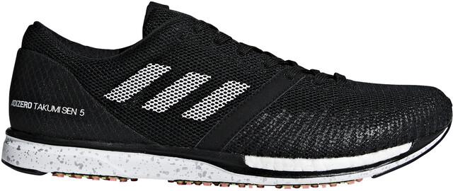 adidas Adizero Takumi Sen 5 Shoes Herre core blackftwr whitecarbon